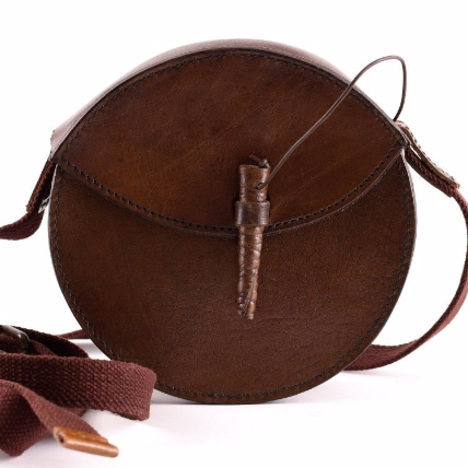 Epic Armoury Round Leather Bag