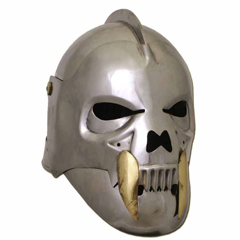 LARP The Skull Celeta, Orc Helmet 1 6mm Steel