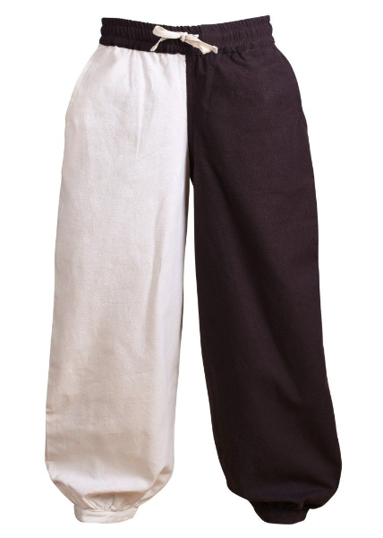 Medieval Trousers For Children - Thore- Colour Brown/Natural 100% Cotton,Available in 4 Sizes